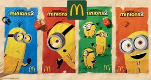 teli mare Minions McDonald's