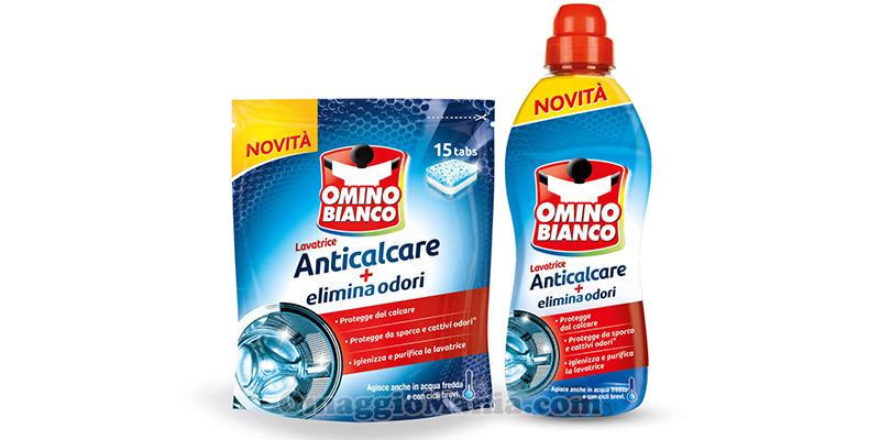 Omino Bianco lavatrice anticalcare elimina odori