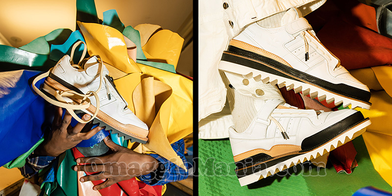 scarpe Adidas Forum Low di Recouture