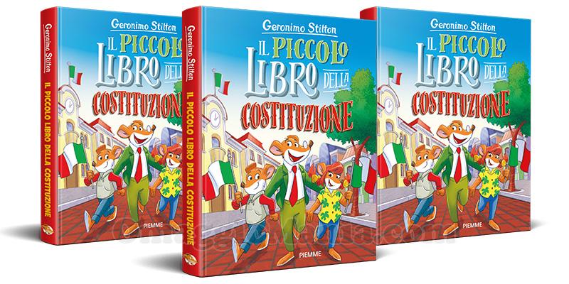 Geronimo Stilton Il Piccolo Libro della Costituzione