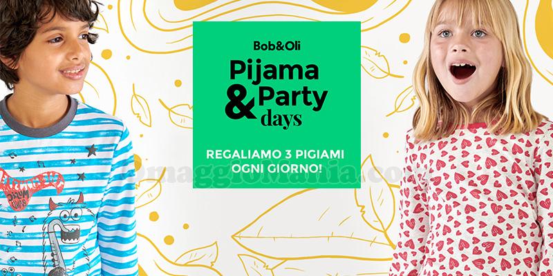 concorso Bob&Oli Pijama & Party Days