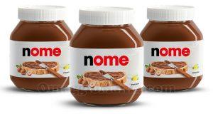 vasetti Nutella personalizzati con nome con concorso Nutella Ti Amo Italia 2021