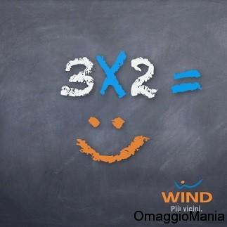 3x2 ricariche Wind