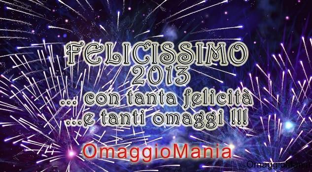 Buon 2013 da OmaggioMania