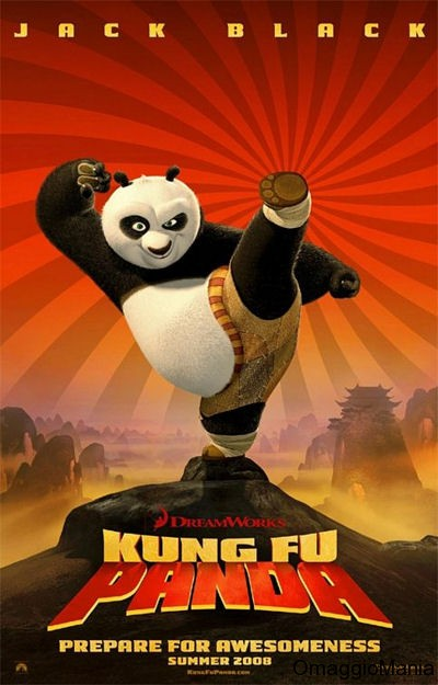 Vinci maglietta Kung Fu Panda