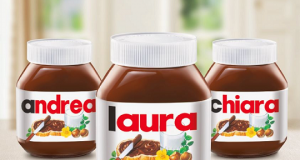 Nutella personalizzata con il proprio nome