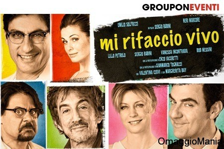 biglietti cinema gratis Groupon - Mi rifaccio vivo