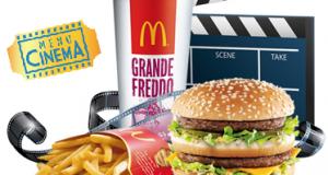biglietto cinema gratis 2x1 da McDonald's