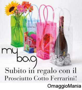 borsa My Bag in regalo con Ferrarini