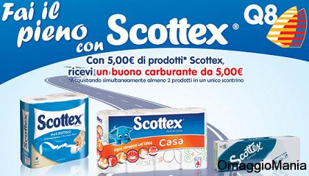 Buoni carburante omaggio q8 acquistando scottex omaggiomania for Buoni omaggio amazon