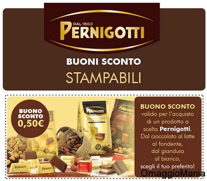 buoni sconto Pernigotti