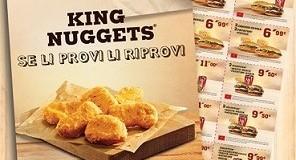 buoni sconto da stampare Burger King