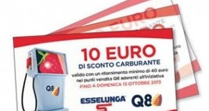 buono carburante Q8 Esselunga 2013