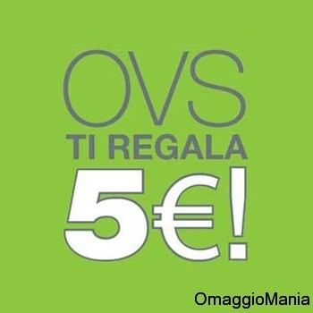buono sconto 5 euro OVS