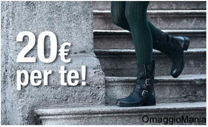 buono sconto Bata 20 euro