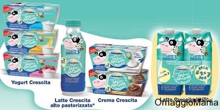 buono sconto prodotti per bambini Granarolo