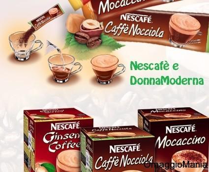 campione gratis nescafè con DonnaModerna