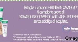 campione gratis somatoline da miafarmacia marzo 2013