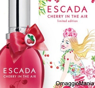campioni omaggio especially escada cherry in the air
