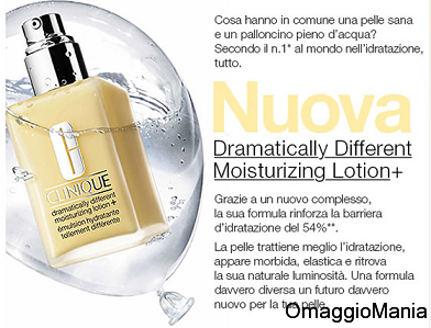 campione omaggio Dramatically Different Moisturizing Lotion+