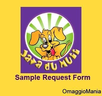 campione omaggio cibo per cani