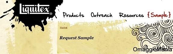 campioni omaggio liquitex