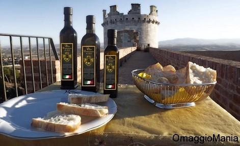 campione omaggio olio extravergine di oliva Golden Flavors