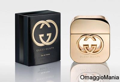campione omaggio profumo Gucci Guilty 2013