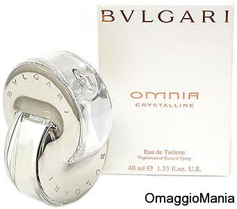 campione omaggio profumo Omnia Crystalline di Bulgari