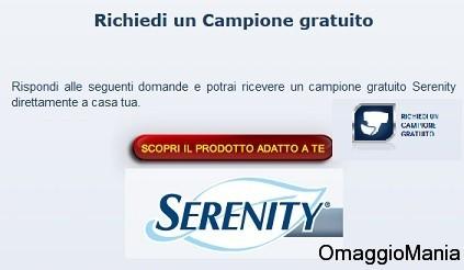 campione omaggio serenity