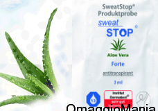 campione omaggio sweat stop