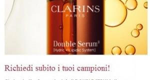 campioni omaggio cosmetici Clarins