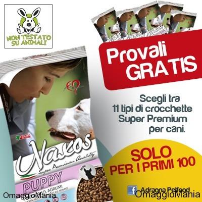campioni omaggio crocchette per cani - esclusiva OmaggioMania