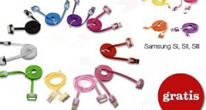 cavo dati-caricabatterie Apple Samsung (quasi) gratis