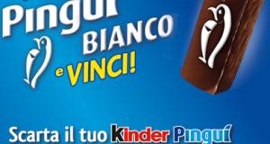 concorso Kinder Pinguì - Cerca il Pinguì Bianco e vinci