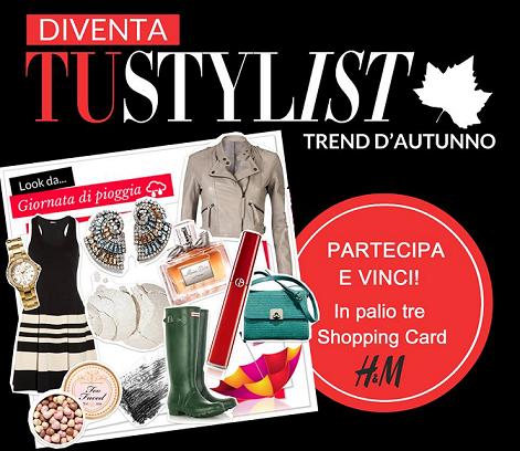 concorso a premi Tu Style per vincere shopping card H&M