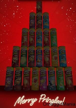 concorso a premi calendario avvento Pringles