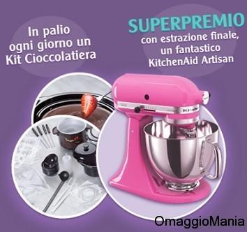 concorso a premi cioccolatiera robot da cucina De Agostini