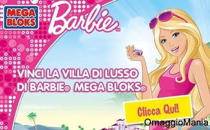 concorso a premi disney vinci barbie mega blok