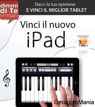 concorso a premi vinci ipad