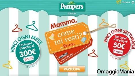 concorso a premi pampers