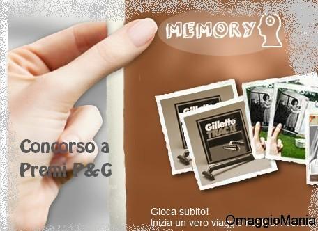 concorso a premi p&g Memory