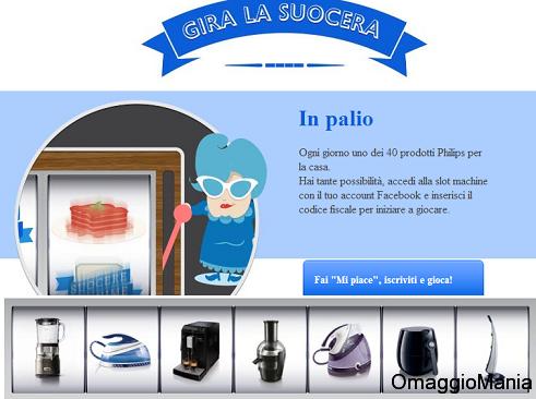 """concorso a premi Philips """"Gira la suocera"""" per vincere elettrodomestici"""
