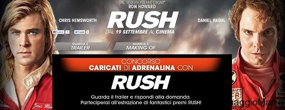concorso a premi rush
