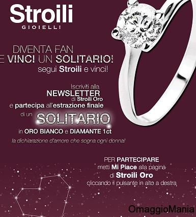 Concorso a premi Stroili Oro: vinci Solitario in oro ...