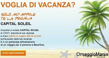 concorso a premi vichy soleil