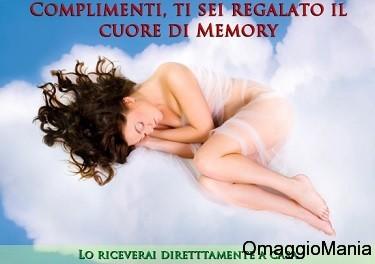 conferma omaggio memory cuore