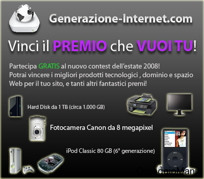 Contest Generazione-Internet