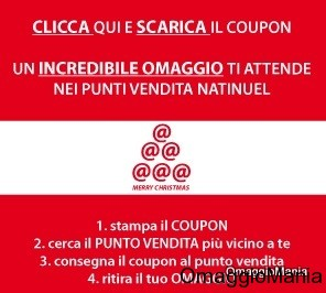 coupon omaggio Natinuel